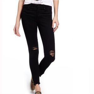 ARTICLES OF SOCIETY Black Distressed Skinny 25